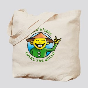 lock and loll lules the wold Tote Bag
