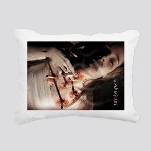 Intervention - Sonia (ai Rectangular Canvas Pillow