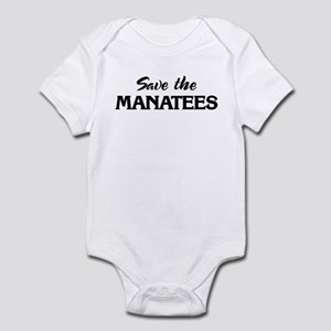 Save the MANATEES Infant Bodysuit