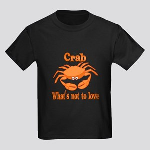 Crab to Love Kids Dark T-Shirt