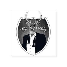 Deer in tuxedo - Stay Classy Sticker