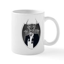 Deer in tuxedo - Stay Classy Mugs