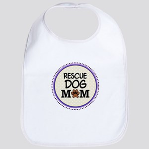 Rescue Dog Mom Bib