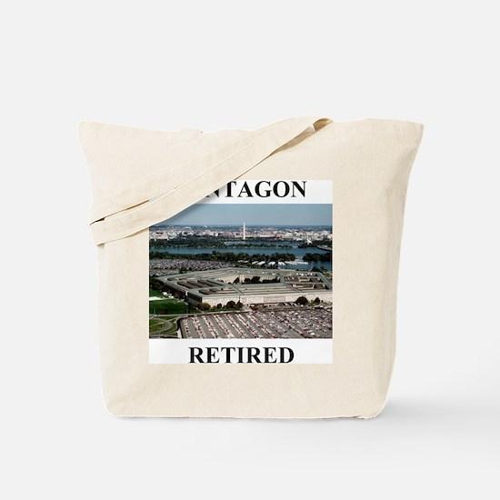 Pentagon - Retired 2 Tote Bag