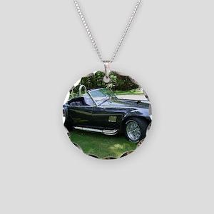 cobra sports car Necklace Circle Charm