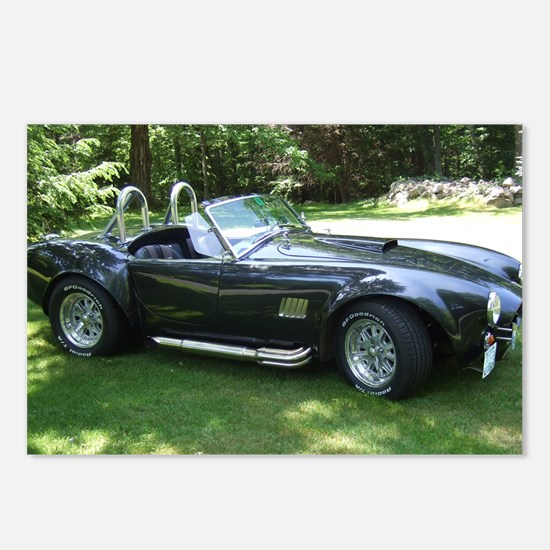 cobra sports car Postcards (Package of 8)