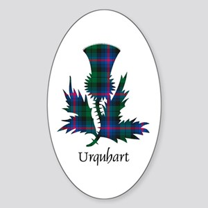 Thistle - Urquhart Sticker (Oval)