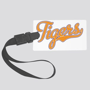 Go Tigers Large Luggage Tag