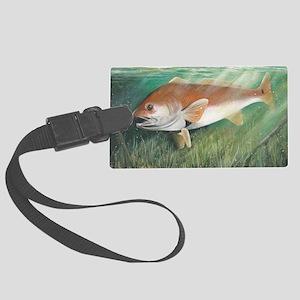 Redfish Large Luggage Tag