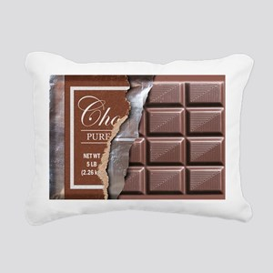 Chocolate Bar Rectangular Canvas Pillow