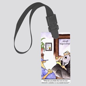 GOLF 006 Large Luggage Tag