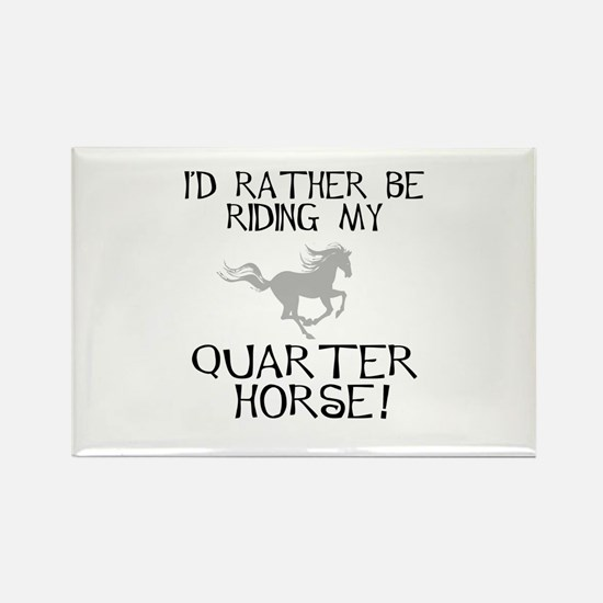 Rather...Q-Horse! Rectangle Magnet
