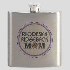 Rhodesian Ridgeback Dog Mom Flask