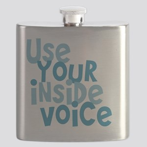 Use Your Inside Voice Flask