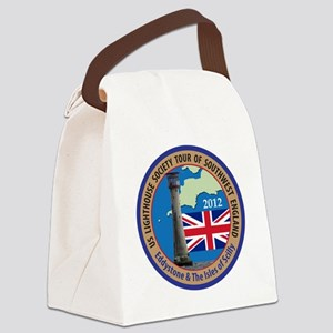 SW England Lighthouse Tour Canvas Lunch Bag