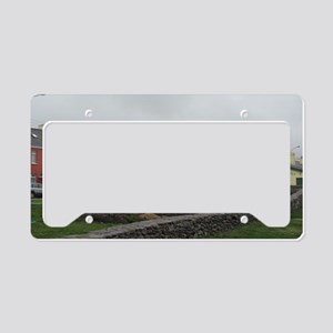 Irish village License Plate Holder