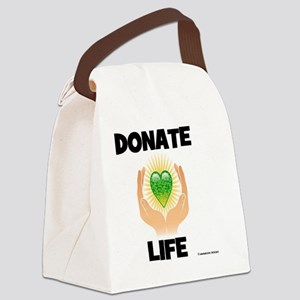 DONATE LIFE Canvas Lunch Bag