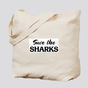 Save the SHARKS Tote Bag