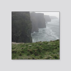 """Cliffs of Moher Square Sticker 3"""" x 3"""""""