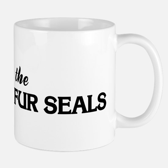 Save the NORTHERN FUR SEALS Mug