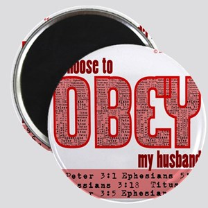 Choose to Obey RED Magnet