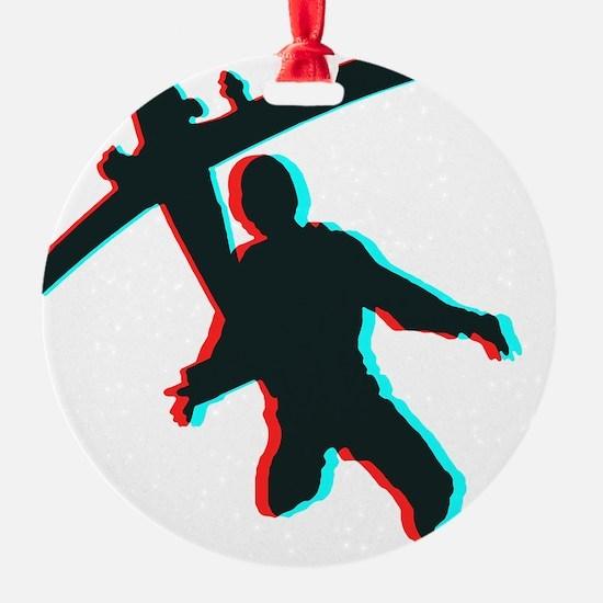 3D Freefall 1 Ornament