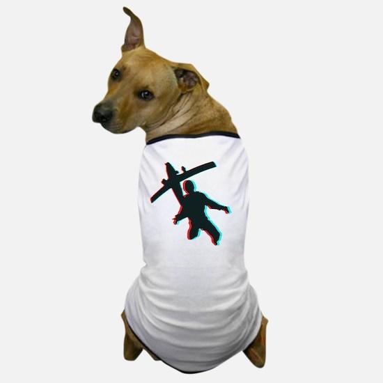3D Freefall 1 Dog T-Shirt