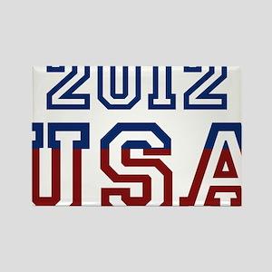 2012 USA Rectangle Magnet
