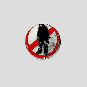 STOP THE VIOLENCE--- Graphitti Mini Button
