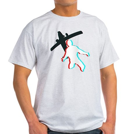 3D Freefall 1 (Dark) Light T-Shirt