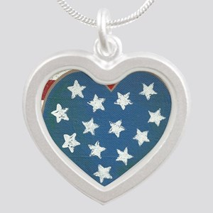 American Love Silver Heart Necklace