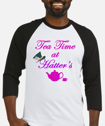 Tea Time at Hatters Baseball Jersey