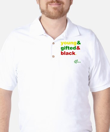 Young, Gifted and Black Golf Shirt