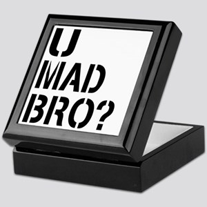 U Mad Bro Shirt Keepsake Box