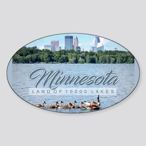 Minnesota 10,000 Lakes Sticker