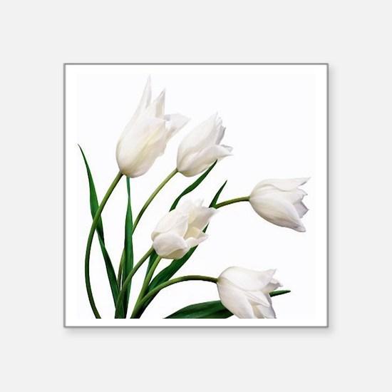 """Tulip Square Sticker 3"""" x 3"""""""