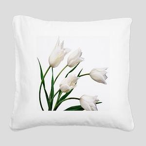 Tulip Square Canvas Pillow