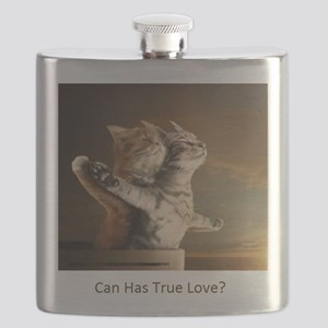 Titanic Cats Flask