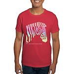 Rainbow Zebra Right Dark T-Shirt