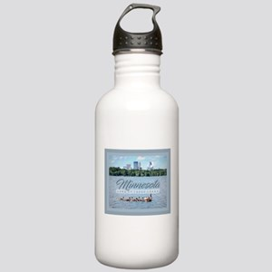 Minnesota 10,000 Lakes Stainless Water Bottle 1.0L