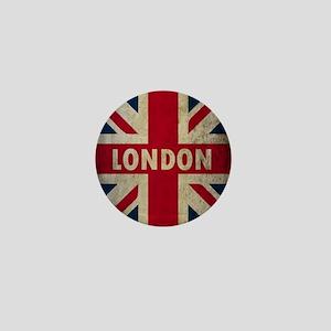 Vintage Union Jack Mini Button
