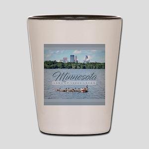 Minnesota 10,000 Lakes Shot Glass