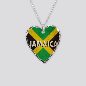 Jamaica Necklace Heart Charm