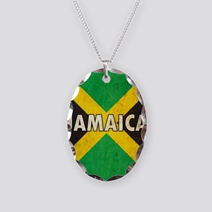 Jamaica Necklace Oval Charm