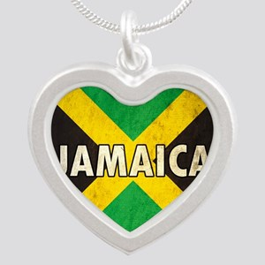 Jamaica Silver Heart Necklace