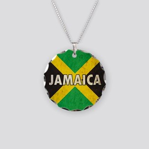 Jamaica Necklace Circle Charm