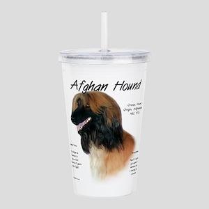 Afghan (fawn) Acrylic Double-wall Tumbler