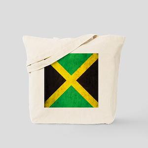 Vintage Jamaica Flag Tote Bag