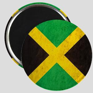 Vintage Jamaica Flag Magnet
