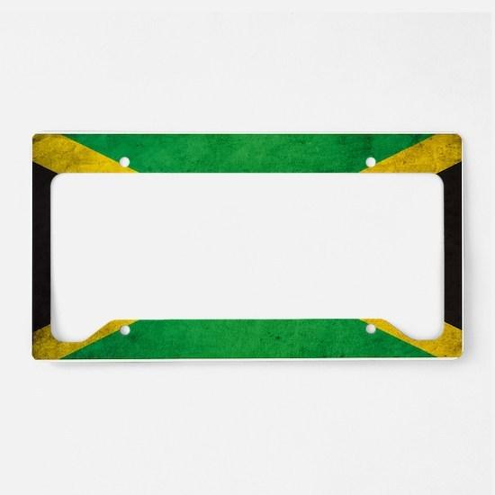 Vintgae Jamaica License Plate Holder